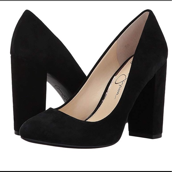e81a90c9991 Jessica Simpson Shoes - JESSICA SIMPSON Women s Belemo Pump Black Suede 8